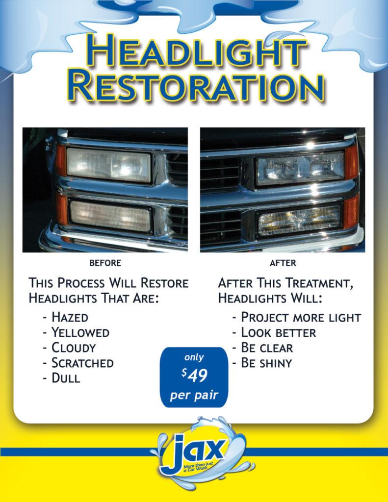 Jax Headlight Restoration Service