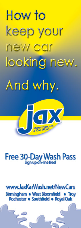 New Cars Wash Free at Jax!